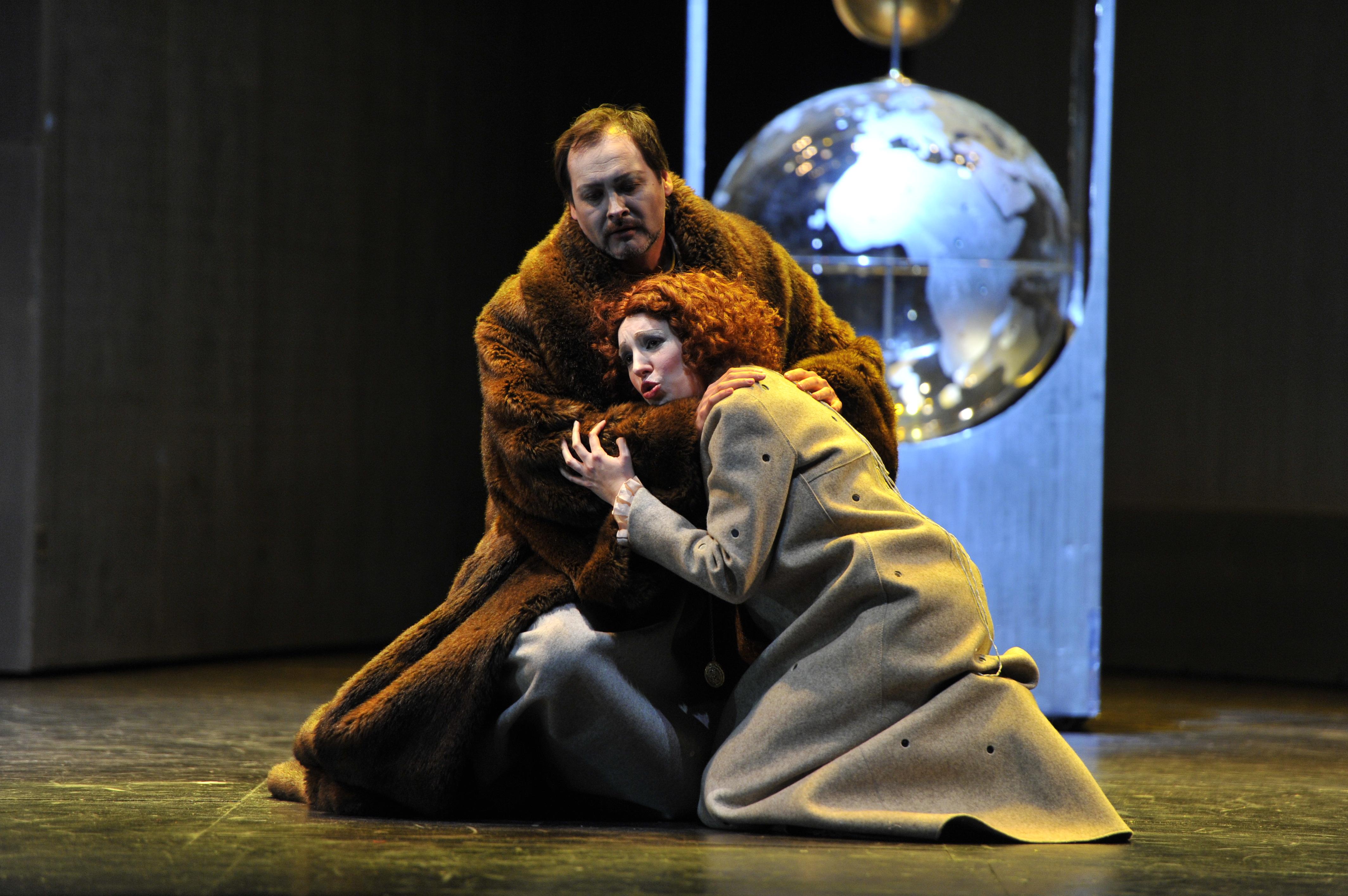 Boris Godunov and Xenia