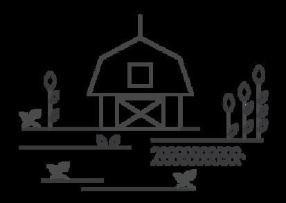 איור של חווה