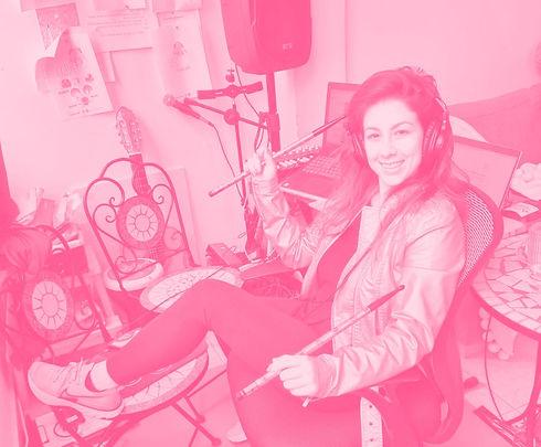 תו יסקין בסטודיו, יום הקלטות