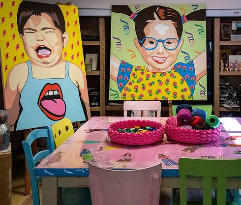 סדנאות בסטודיו של אתי נריה