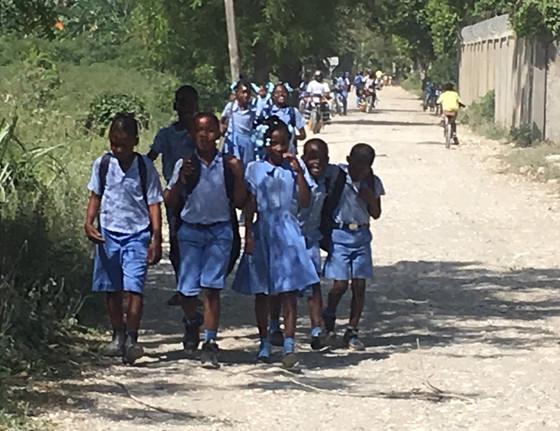 Time for School - In Haiti
