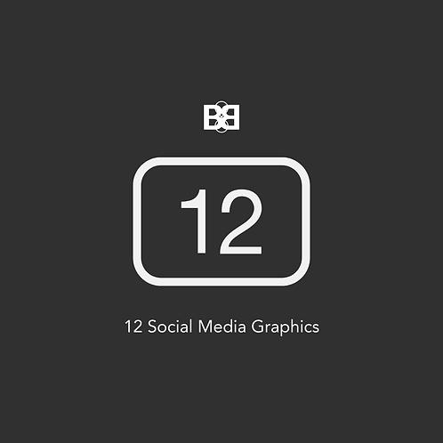 12 Social Media Graphics