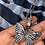 Thumbnail: Sparkling Butterfly Pendant Necklace CZ
