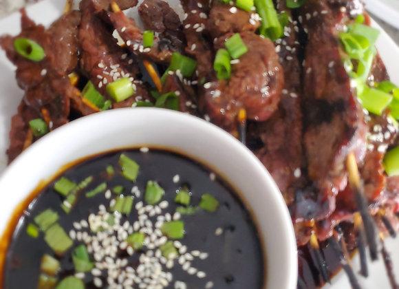 Korean BBQ Skewers Recipe