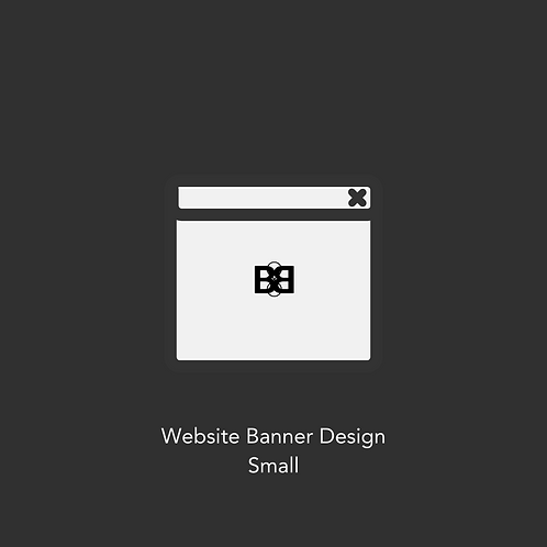 Website Banner Design (Small)