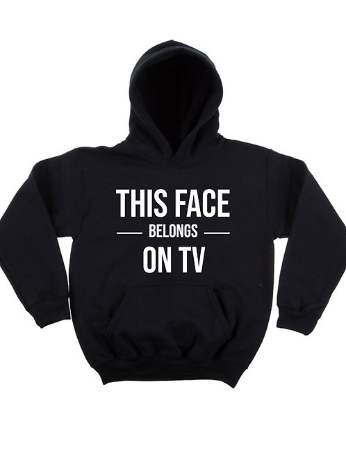 """""""This Face"""" Adult Hoodie"""
