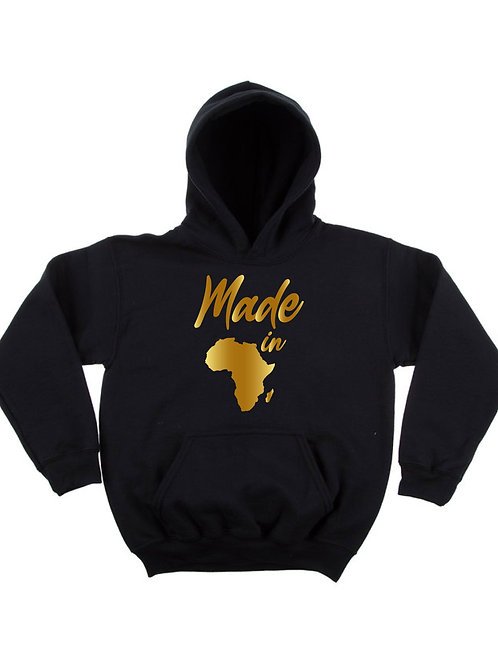"""Made In"" Adult Hoodie"