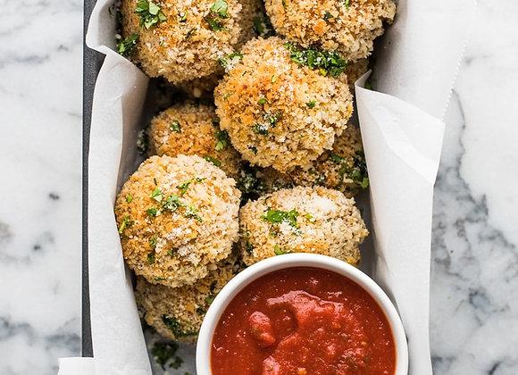 Southwestern Rice Balls Recipe