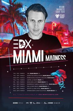EDX Miami Madness