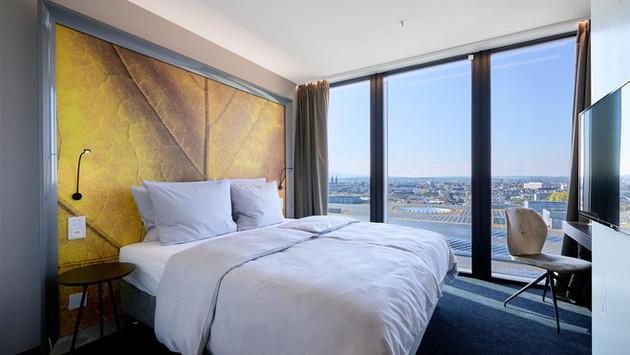 Zimmersanierung, Hotel Hyperion Basel