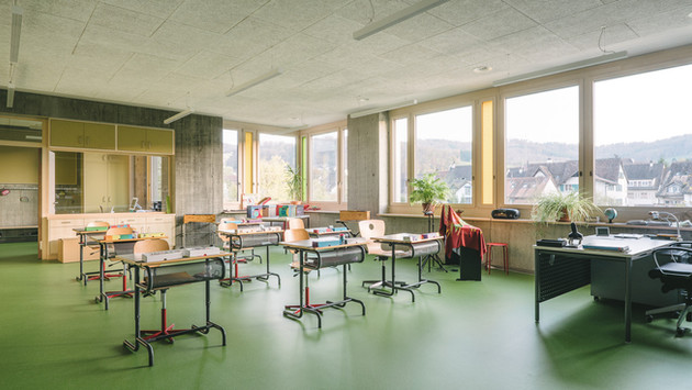 Schulhaus Grammel, Lausen