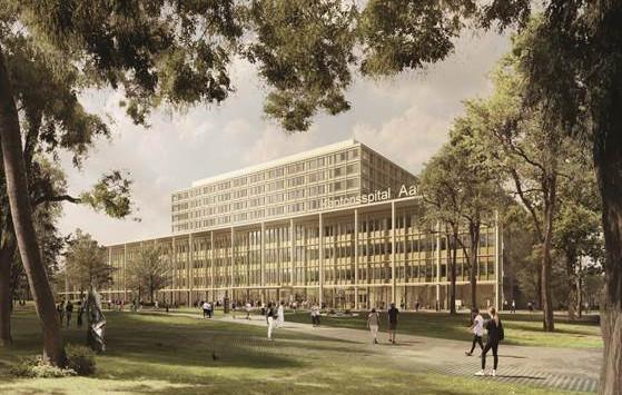 Neubau Kantonsspital Aarau