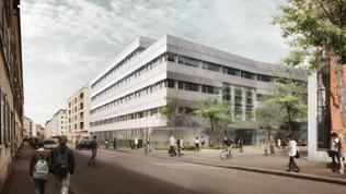 Neubau Universitäres Zentrum für Zahnmedizin, Basel