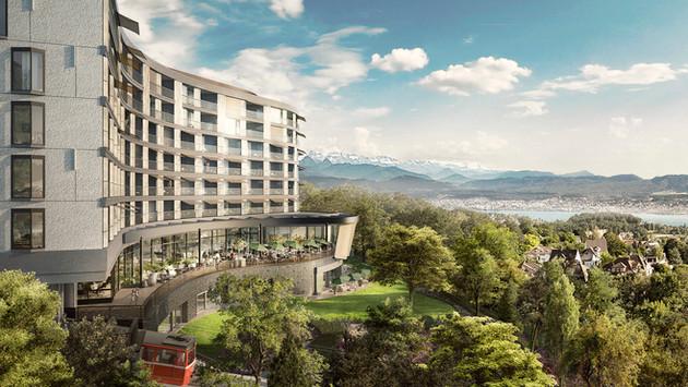 Neubau Dolder Waldhaus, Zürich