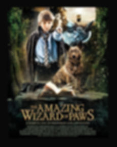 movie poster for Amazing Wizard of Paws