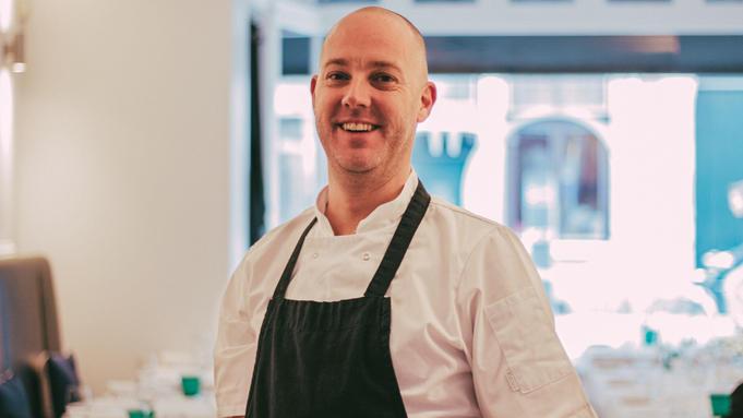 Dennis van Visrestaurant 'O'