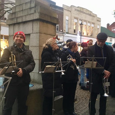 Staines Brass Carolling 2019