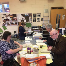 Library sorting day 2020
