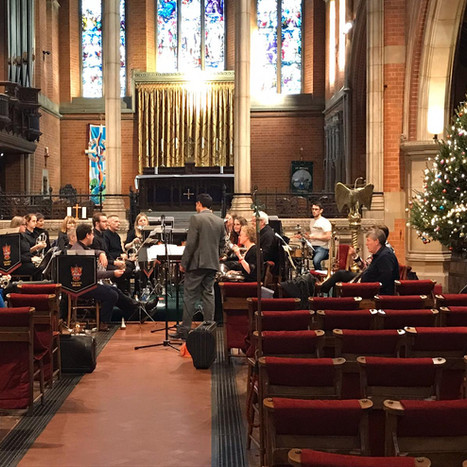 Staines Brass at St Peters Christmas Concert 2019