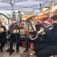 Staines Brass Caroling 2019