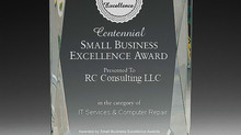 RC Consulting LLC selected for 2016 Centennial Small Business Excellence Award