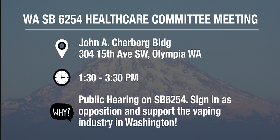 Senate Bill 6254 Healthcare Committee Meeting