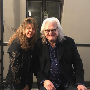 Donna with Ricky Skaggs