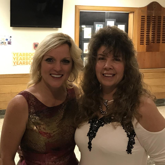 Donna with Rhonda Vincent