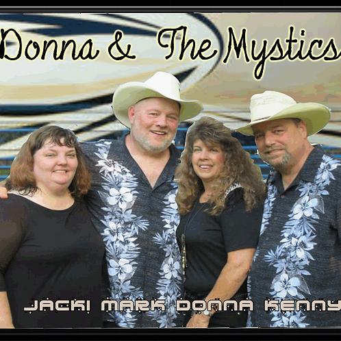 "Donna & The Mystics - :Live"" CD"