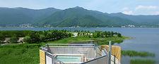 温泉合宿,河口湖