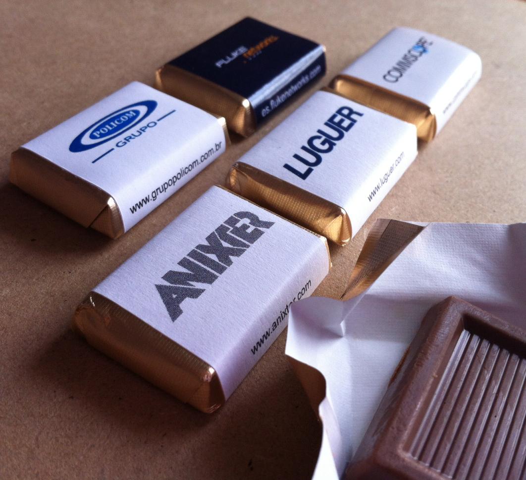 Chocolates personaizados