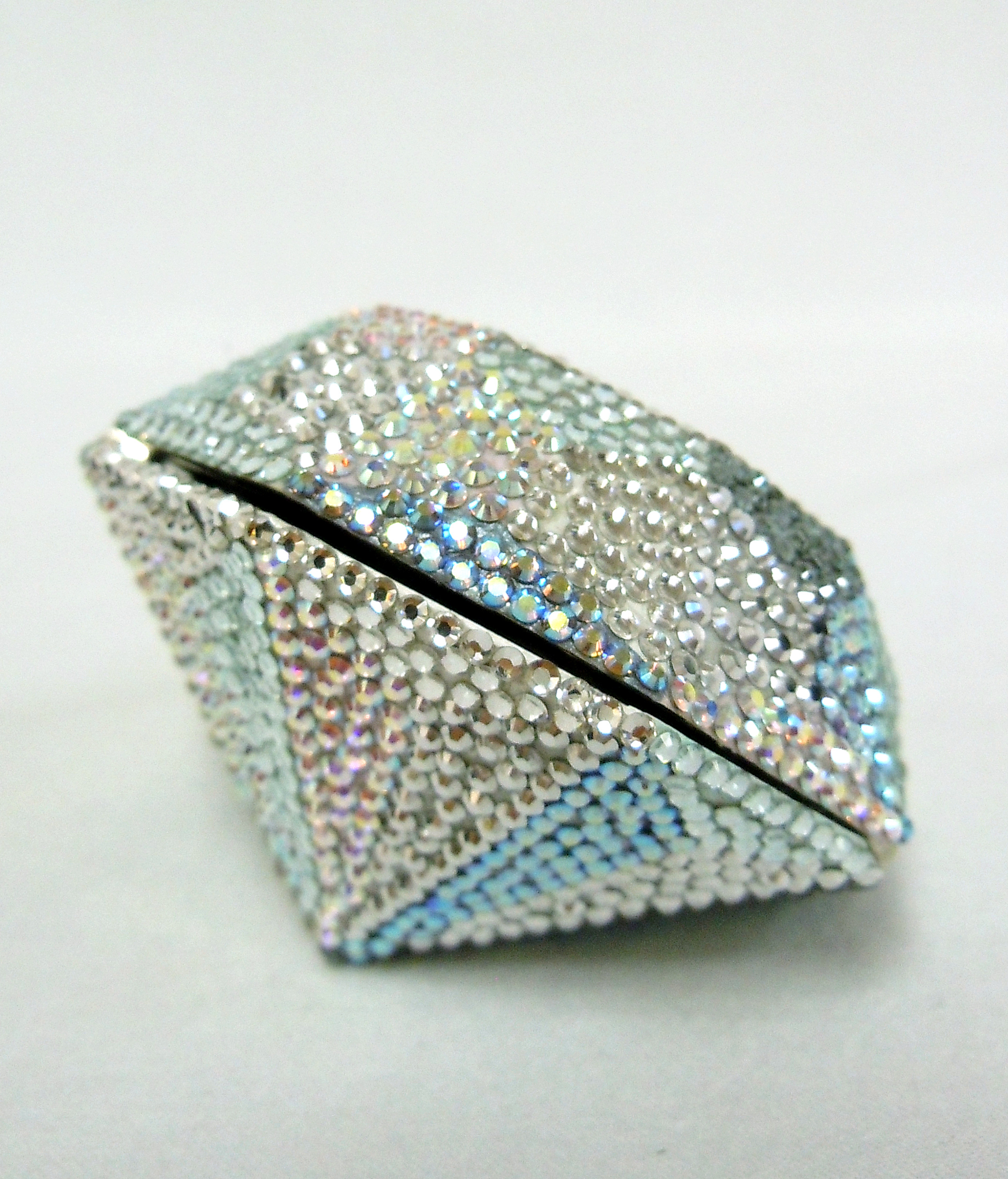 Judith Leiber- Diamond Pill Box