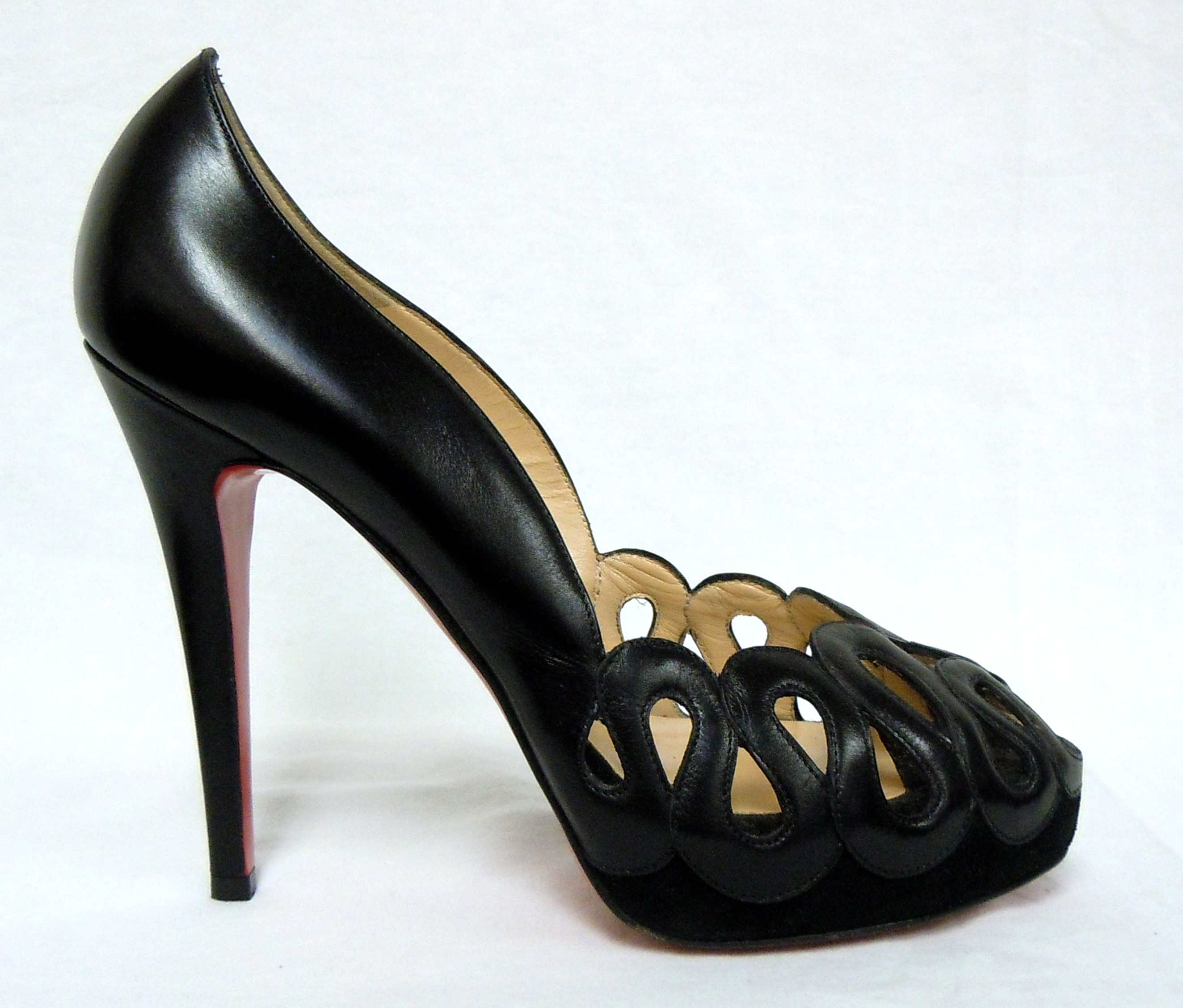 Christian Louboutin- Cutout Pumps