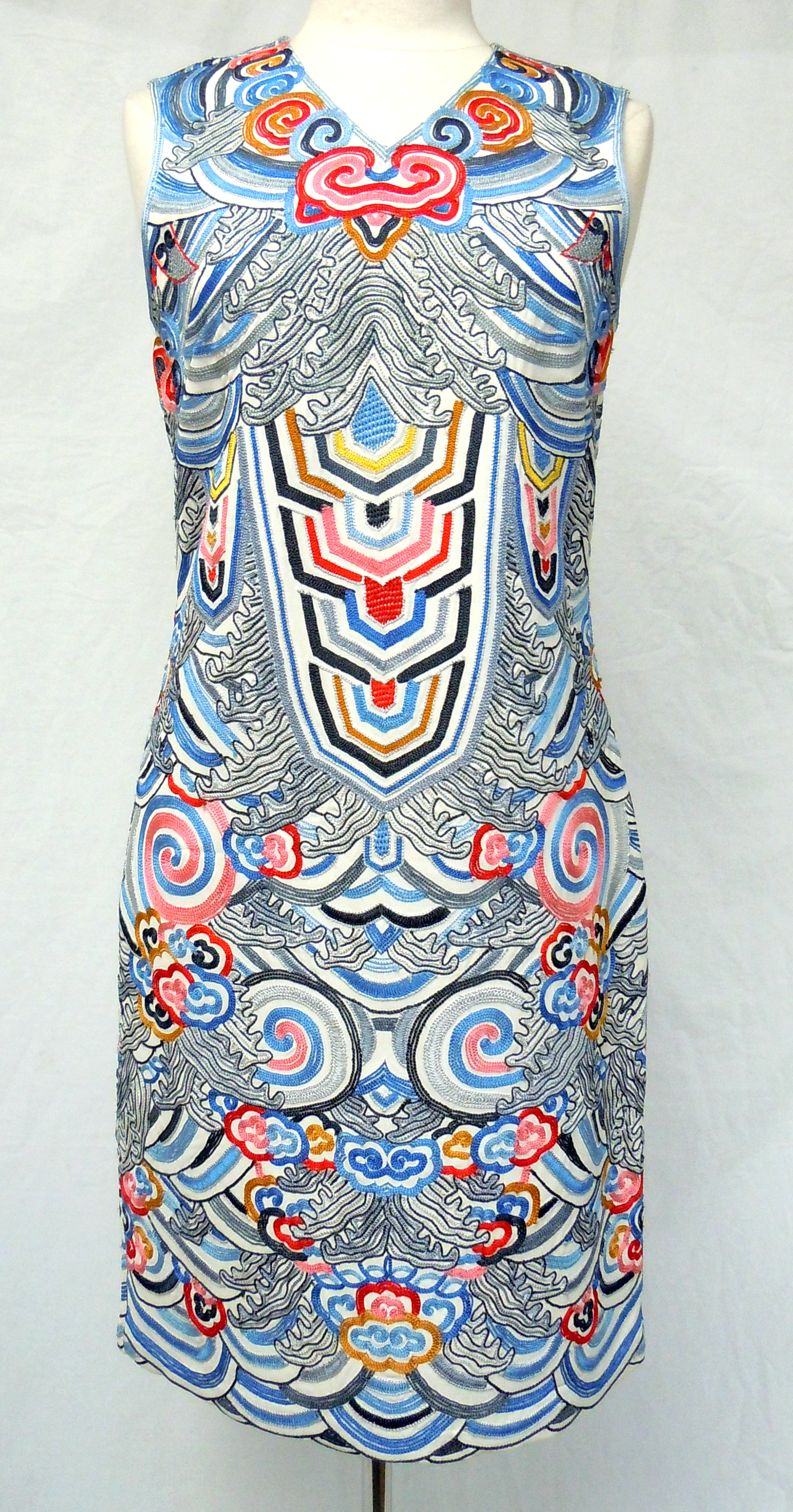 Naeem Kham- Embroidered Dress