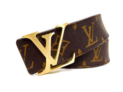Louis Vuitton- Monogram Belt
