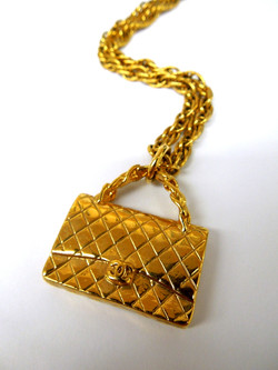 Chanel- Purse Necklace