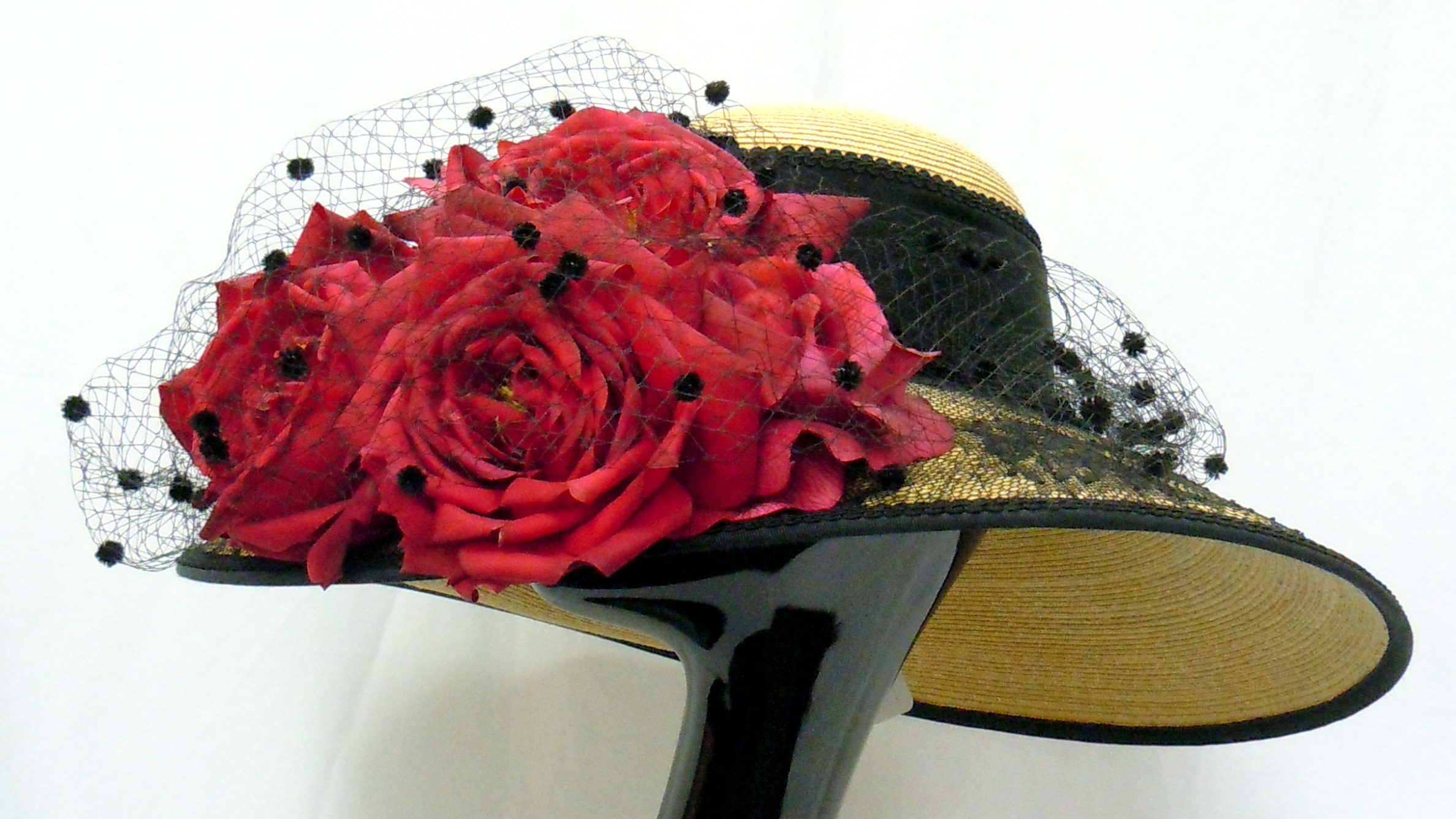 Louise Green- Rose Derby Hat