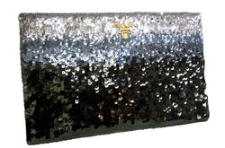 Prada- Ombre Sequin Clutch