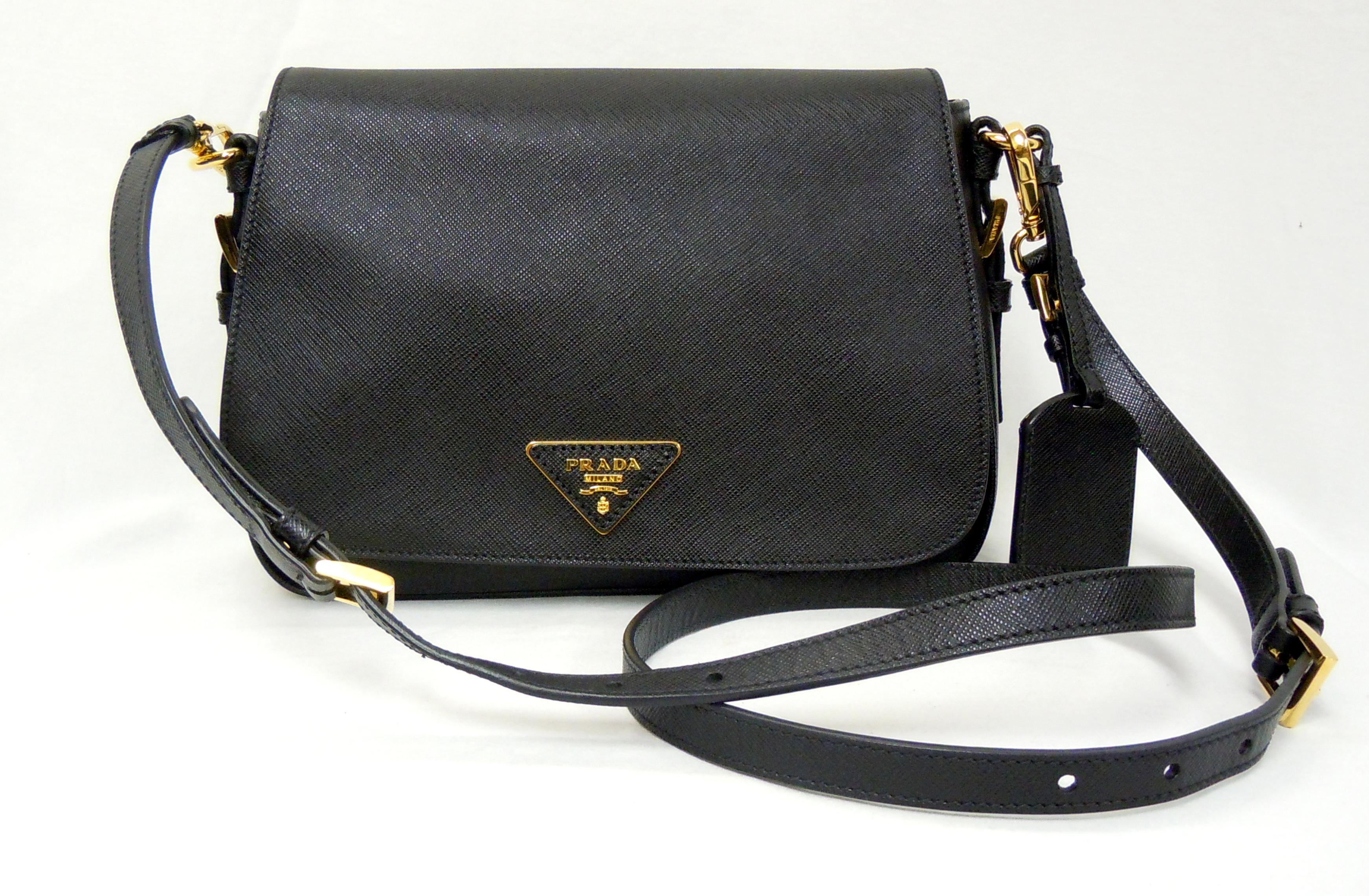 Prada- Flap Crossbody Bag