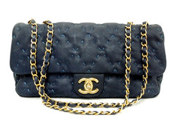 Chanel Caviar Stitched Flap Bag