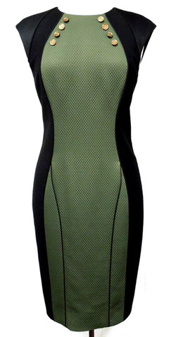 Jason Wu- Panel Sheath Dress