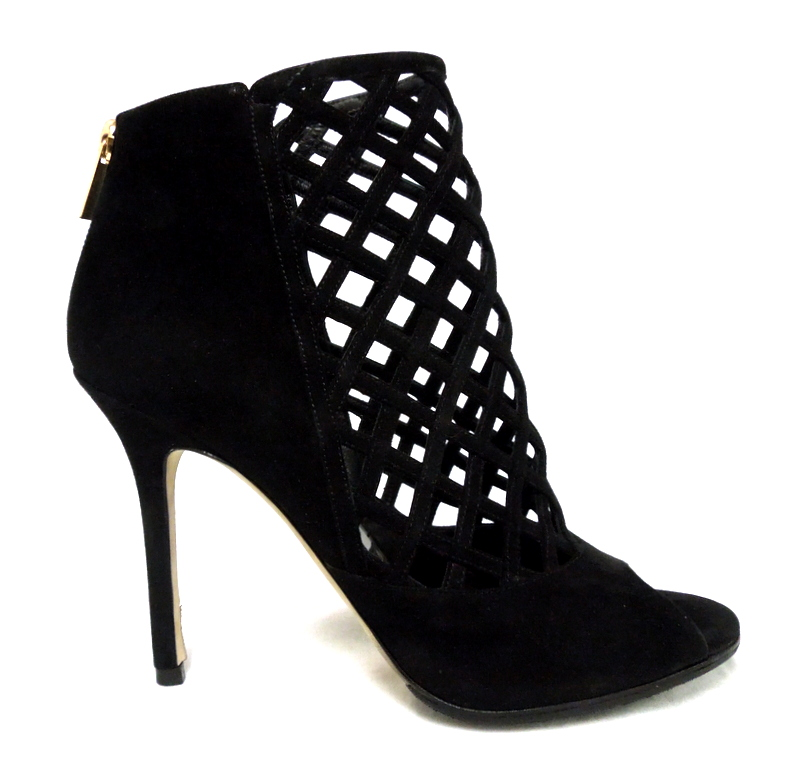 Jimmy Choo Lattice Booties