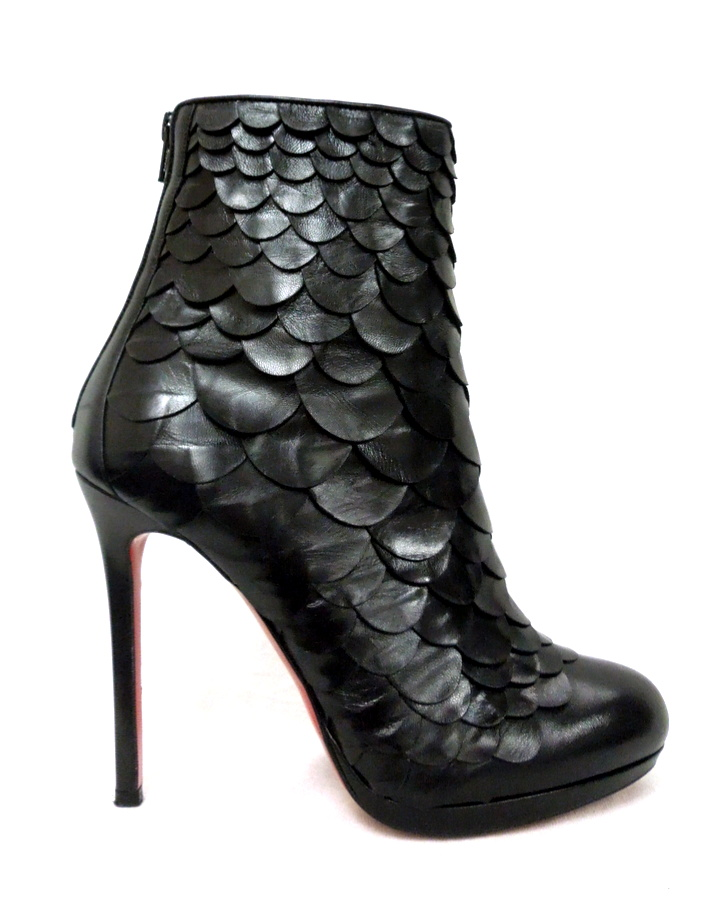 Christian Louboutin Scale Booties
