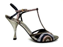 Fendi- Glitter Tile Sandals