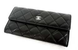 Chanel- Quilted Wallet