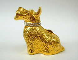 Judith Leiber- Scottie Pill Box