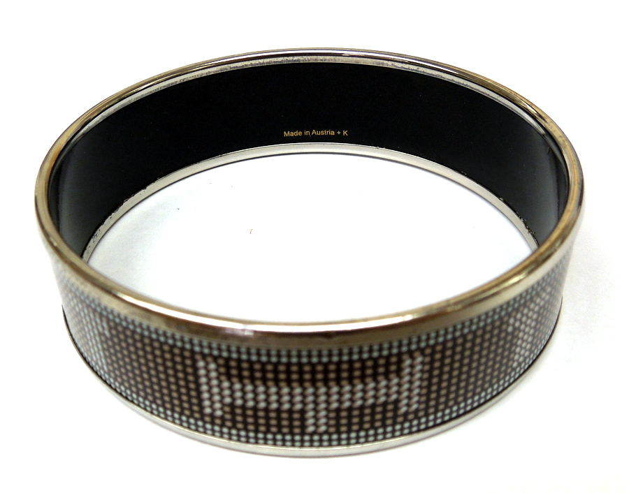 Hermes- Pixelated H Bangle