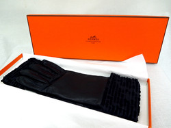 Hermes- Leather Gloves