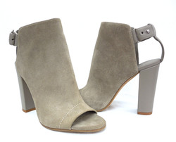 "Vince- ""Addison"" Peep Toe Booties"