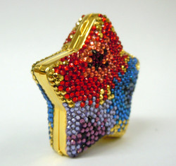 Judith Leiber- Star Pill Box